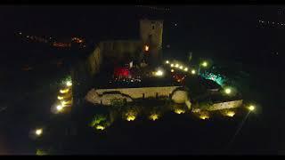 CASTELLO DI AVELLA ( AV ): VIDEO DA DRONE IN NOTTURNA