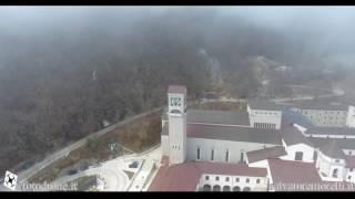 Abbazia di Montevergine fra le nuvole 19-03-2017