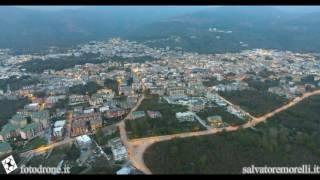 Mugnano del Cardinale ( AV ) da aircraft: visioni dall'alto