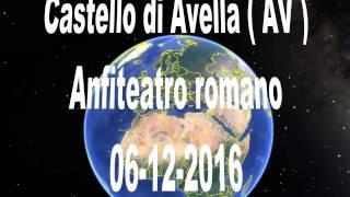 Trasvolata Castello longobardo  di Avella ( AV ) -- Anfiteatro romano