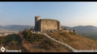 Castello normanno di Avella ( AV ) : aerial video