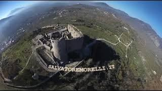 Castello di Avella AV: aerial video 360
